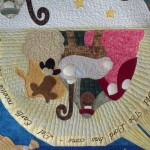 custom quilted nativity scene