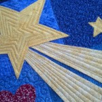 custom quilted Star of Bethlehem