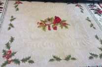 Custom Quilted Christmas Quilts